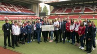Olympians pass down their experience to SportsAid athletes supported by The Nottingham
