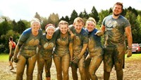The Nottingham staff 'brought closer together' as they overcome Tough Mudder