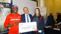 Rayner Essex – 'We wanted to support athletes and SportsAid was the ideal organisation'