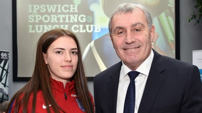 England goalkeeping legend Peter Shilton backs Ipswich Sporting Lunch Club