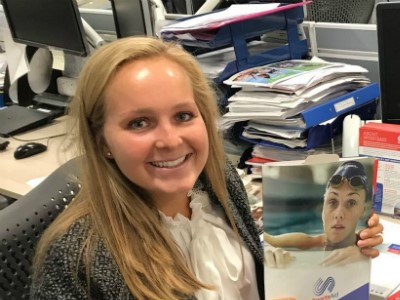 Hockey star Emily Defroand reflects on week-long work experience with SportsAid