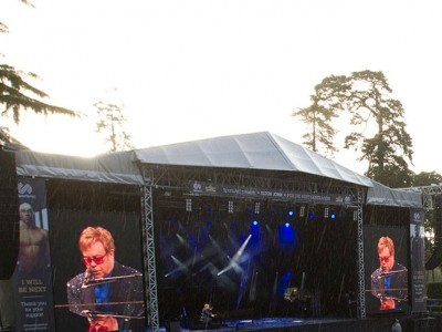 Five thousand people attend SportsAid's Elton John concert on Saturday