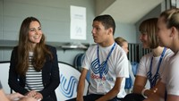 HRH The Duchess of Cambridge sends message to celebrate SportsAid Week