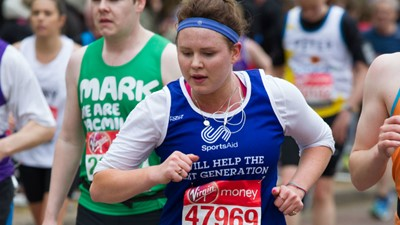 SportsAid's long history with the London Marathon - stretching back to 1984!