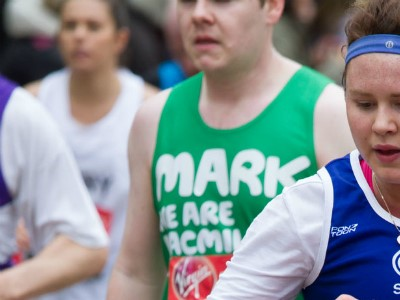 Team SportsAid's London Marathon runners prepare for big day with pre-race gathering