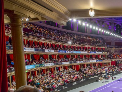 Champions Tennis at Royal Albert Hall partners with SportsAid
