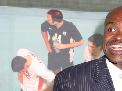 Where it all began for….SportsAid alumnus Kriss Akabusi