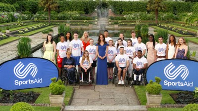 HRH The Duchess of Cambridge highlights SportsAid's impact across British sport