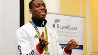 Lutalo Muhammad reflects on Rio 2016 and all things SportsAid at Rayner Essex's Bloomsbury Lunch Club