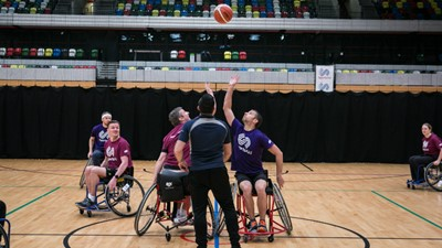 GLL (2) lift SportsAid's #SupportTheNext Trophy as they beat office rivals GLL (1)
